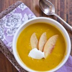 Butternut Squash Soup Recipe with Various Toppings