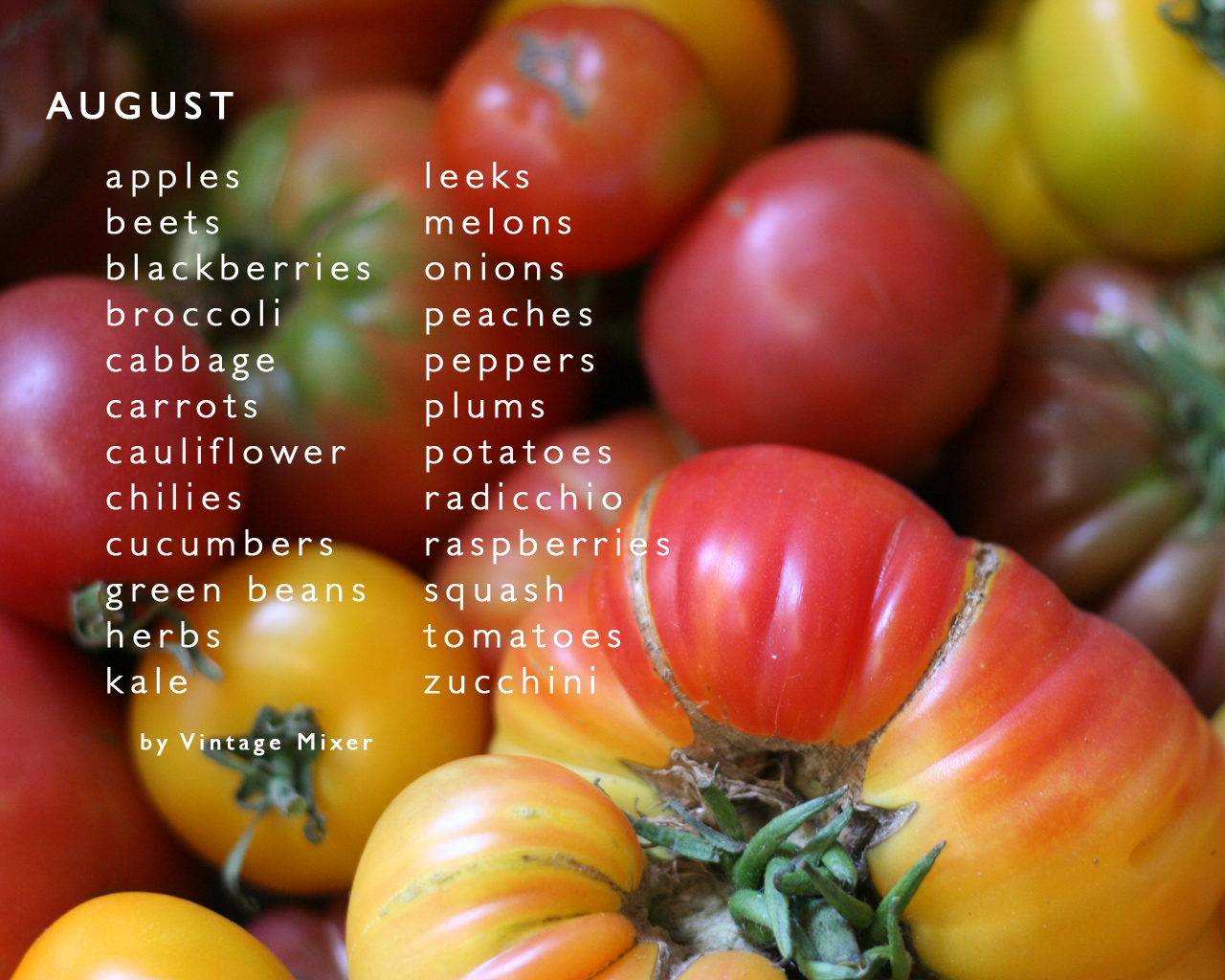 August Produce Video