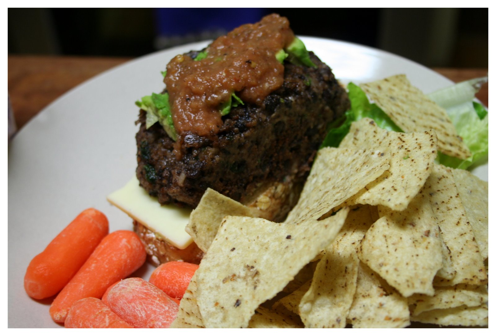 Black Bean Burgers from Gourmet Magazine
