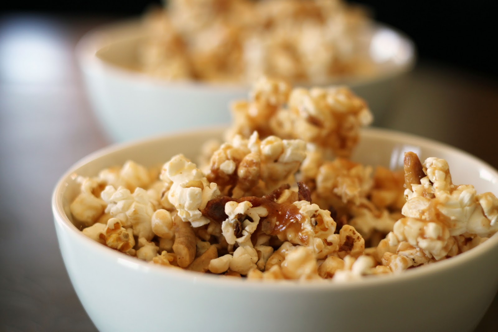 Bacon and Cashew Caramel Corn by Bon Appetit | Vintage Mixer