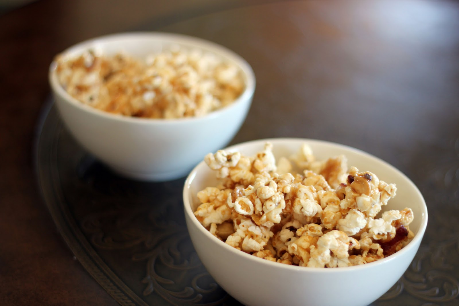 Bacon and Cashew Caramel Corn by Bon Appetit..