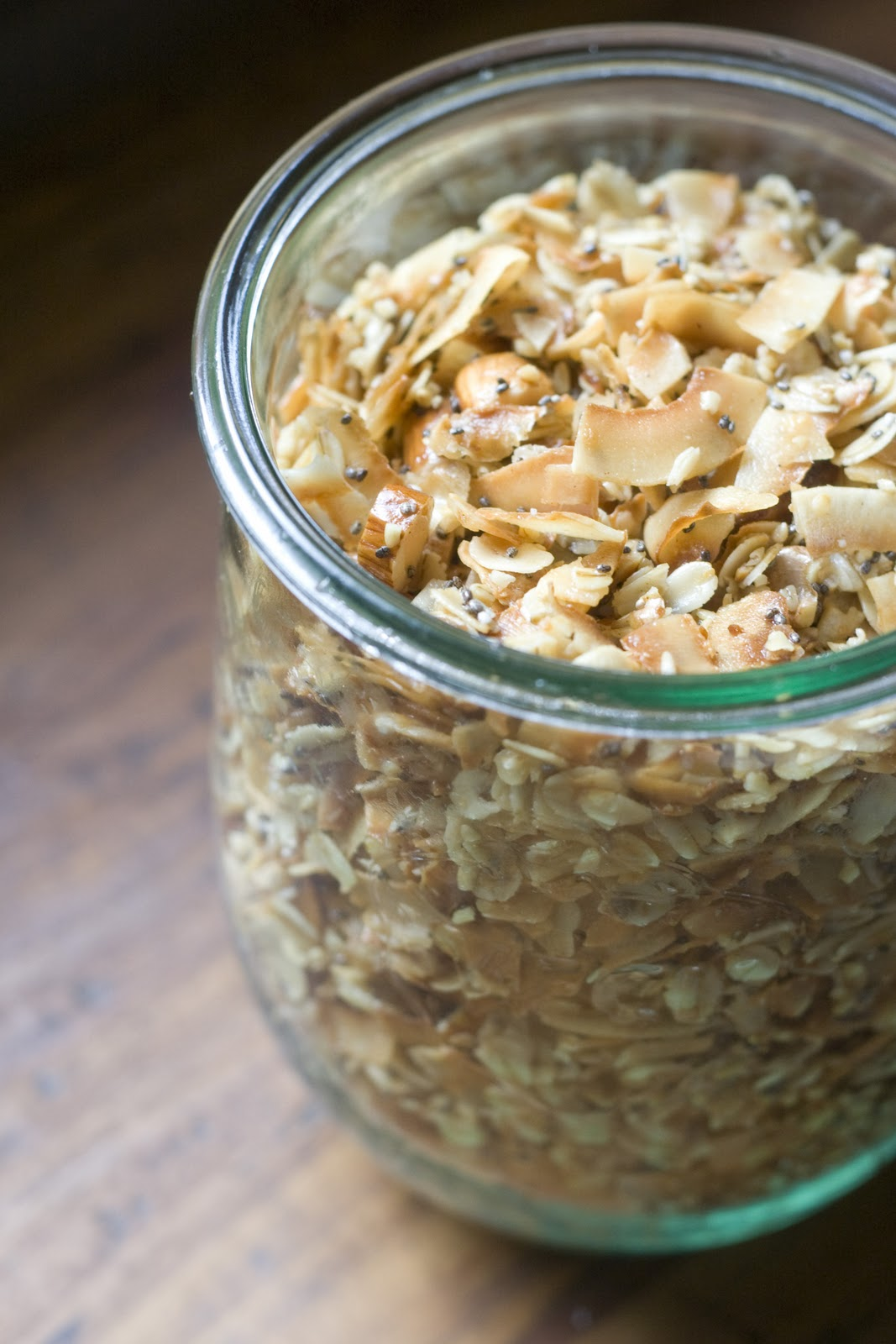 Coconut Granola Recipe | Vintage Mixer