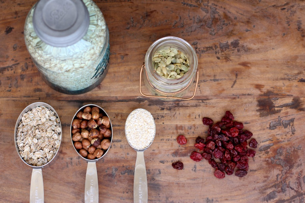 Homemade Muesli Recipe Ingredients