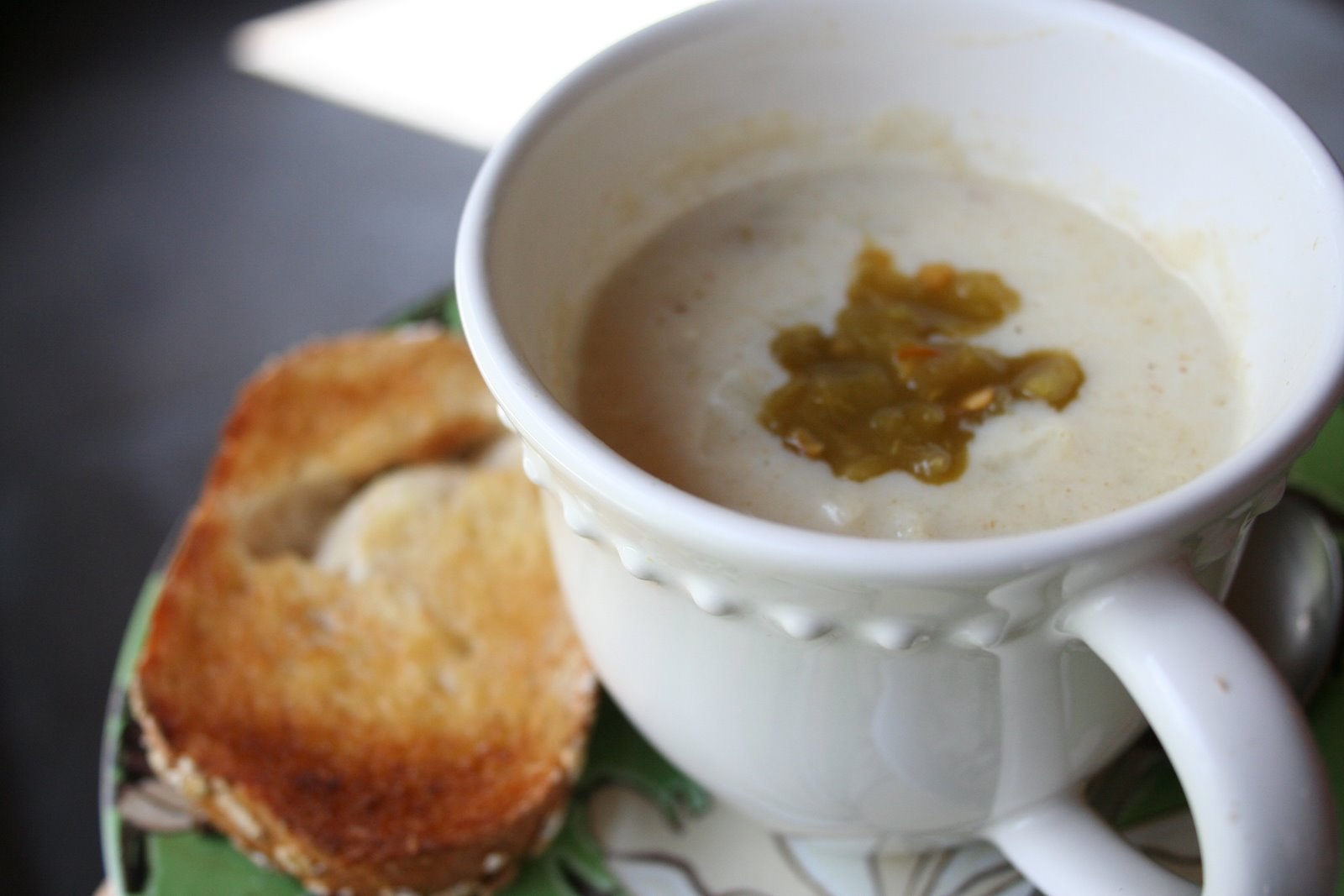 French Cream of Cauliflower Soup