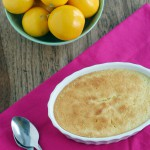 Meyer Lemon Pudding Cake Recipe
