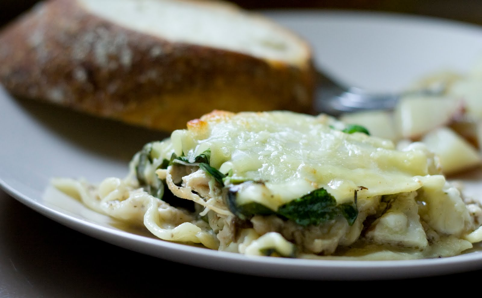 Wild Mushroom Lasagna
