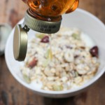 Muesli and honey