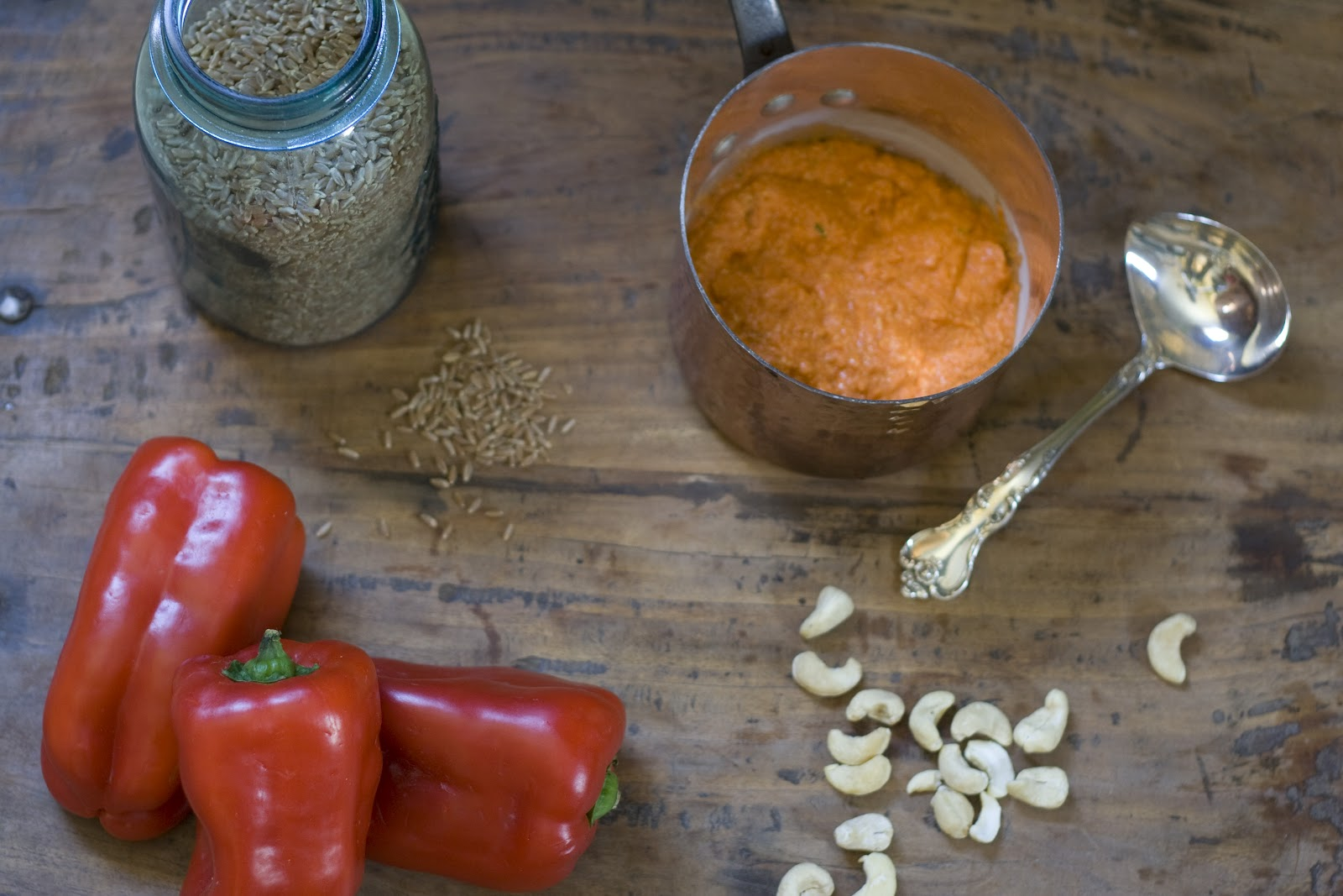 roasted red pepper and roasted red pepper sauce roasted red pepper ...