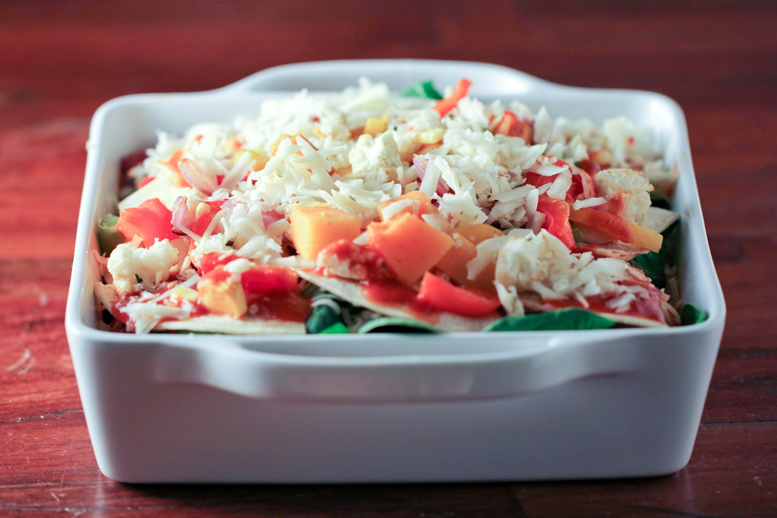 Roasted Vegetable Enchiladas | Vintage Mixer