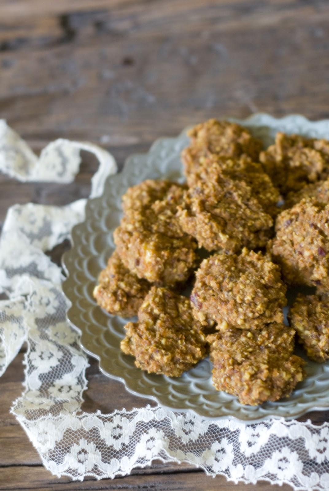 Vegan, Sugar-free Spiced Carrot Cake Cookies Recipe — Dishmaps