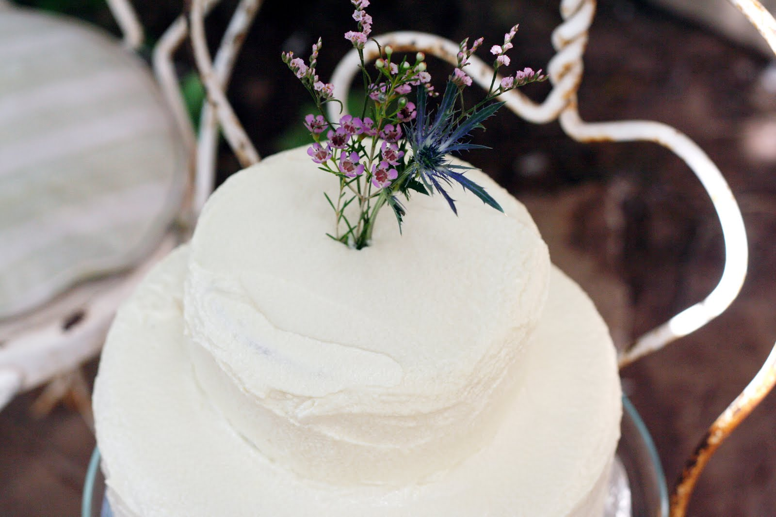 A Texas Wedding and My First Wedding Cake | Vintage Mixer