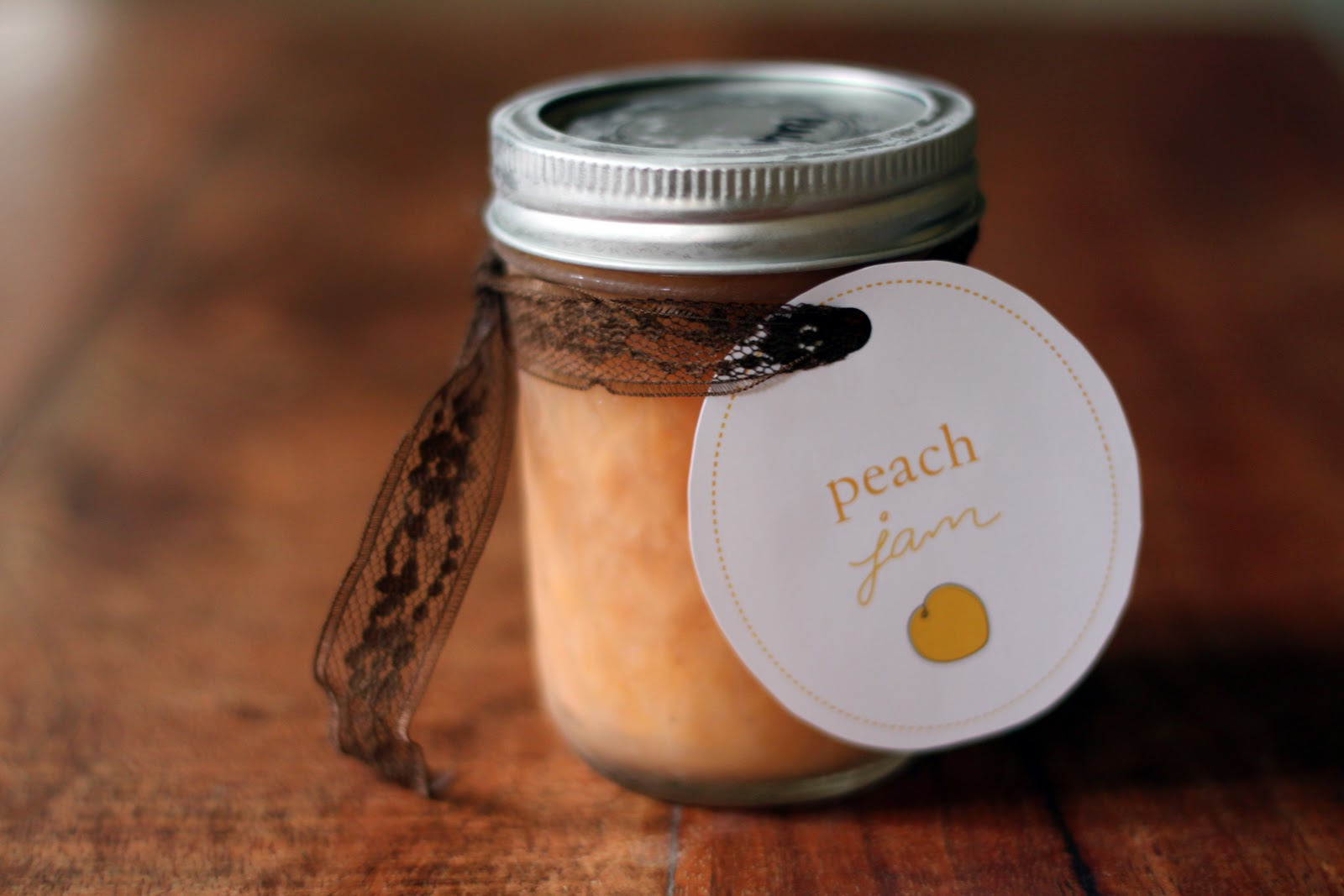 Rustic Peach Jam Recipe