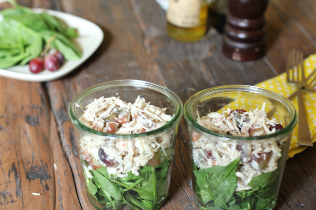 Chicken Salad Recipe with Grapes and Pecans