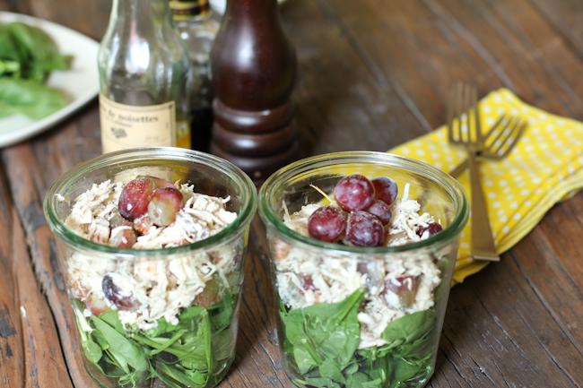 Chicken Salad Recipe in a Jar | Vintage Mixer