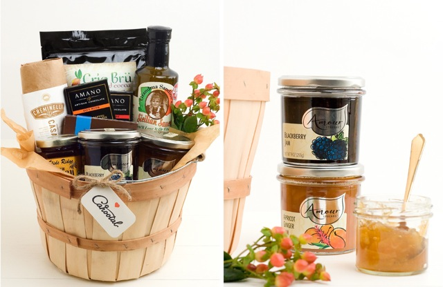 Cahootal Amour Spreads Gift Basket