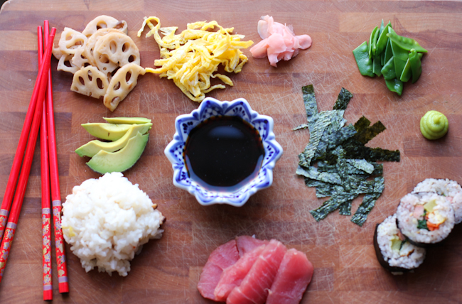 Deconstructed Sushi Bowl Recipe | Vintage Mixer