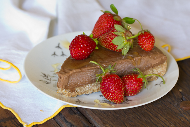 Dairy free chocolate ice cream torte recipe