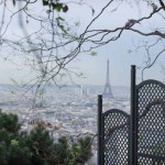 Paris_monmartre_view of Eiffel Tower