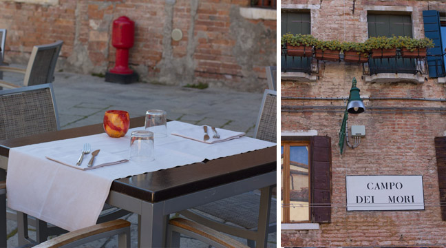 Dining in Cannaregio Venice