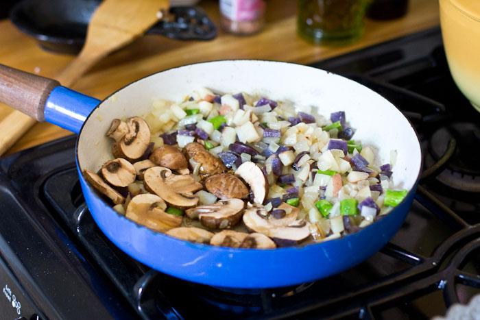 Easy Vegetable Frittata Recipe | Vintage Mixer