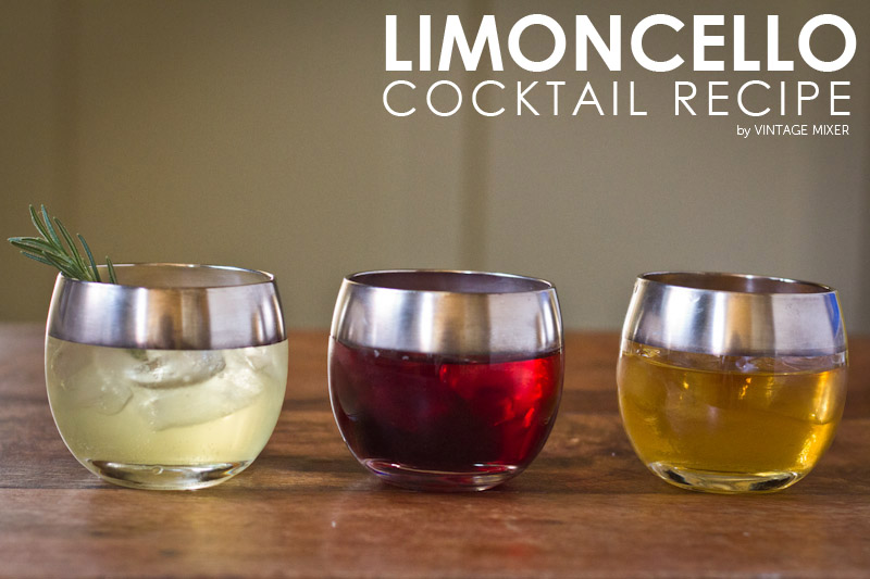 Limoncello Cocktail Recipes