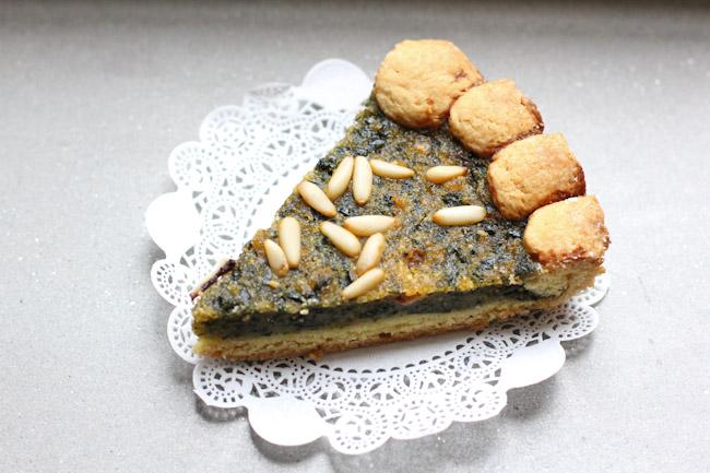 Torta de Lucca swiss chard tart