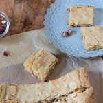 Hazelnut and Cherry Brown Butter Bar Recipe