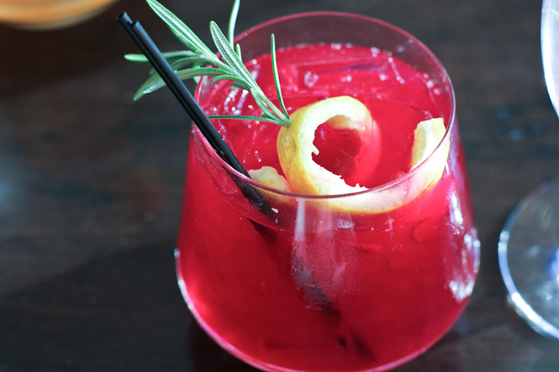 Beet Cocktail Recipe from The Farm at Canyons Resort