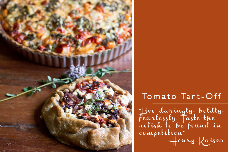 Heirloom Tomato Tart Recipes