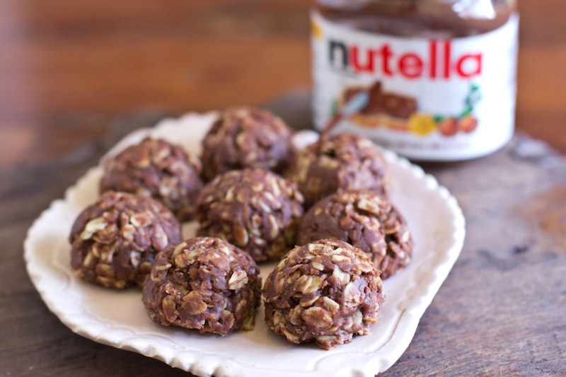 No-Bake Nutella Oatmeal Cookies Recipe — Dishmaps