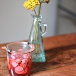 Strawberry Pickled Radishes