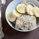 Banana, Peanut Butter and Honey Ice Cream Recipe