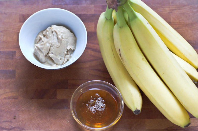 Banana, Peanut Butter and Honey Ice Cream Recipe | Vintage Mixer