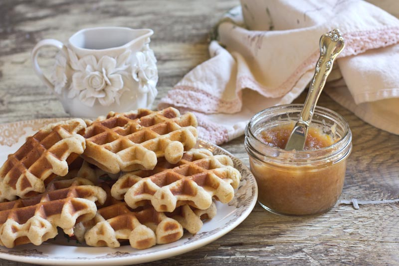 Gingerbread Waffle Recipe | Vintage Mixer