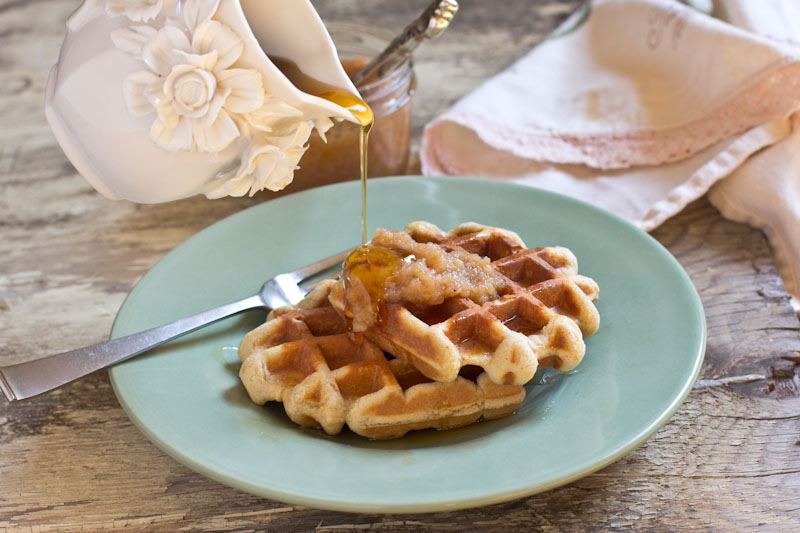Gingerbread Waffle Recipe gluten free 