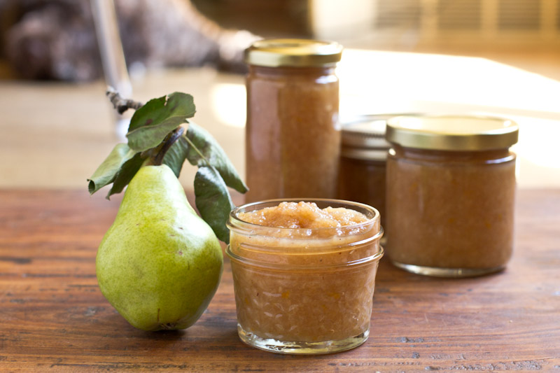 Pear Butter Recipe