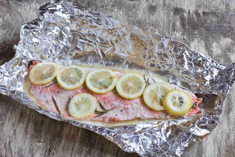 Grilled Wild Alaskan Salmon Recipe