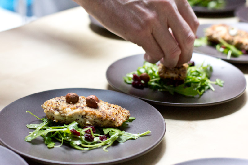Hazelnut Crusted Trout Recipe | Vintage Mixer