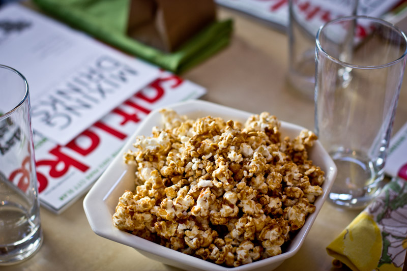 Pumpkin Caramel Popcorn Recipe