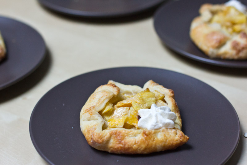 Mango Pineapple Galette by Completely Delicious