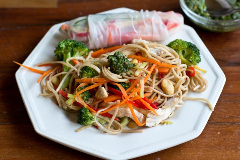 Thai Basil Pesto Recipe • www.thevintagemixer.com