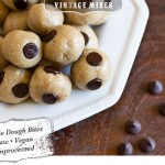 Unprocessed Raw Cookie Dough Bites