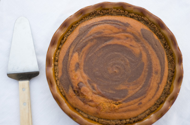 Pumpkin Chocolate Pie Recipe