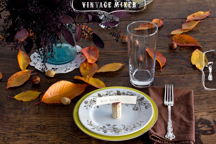 Inexpensive Thanksgiving Table Decorations