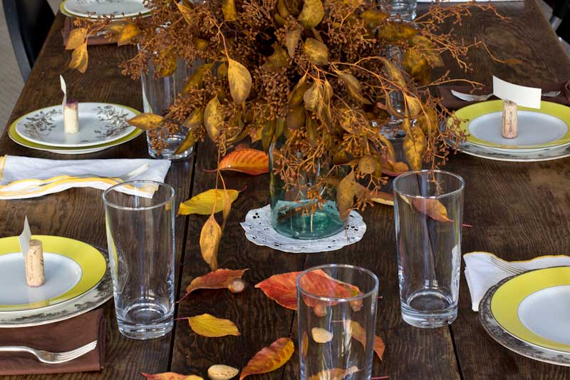 Cheap thanksgiving table decoration photograph inexpensive Cheap thanksgiving table setting ideas