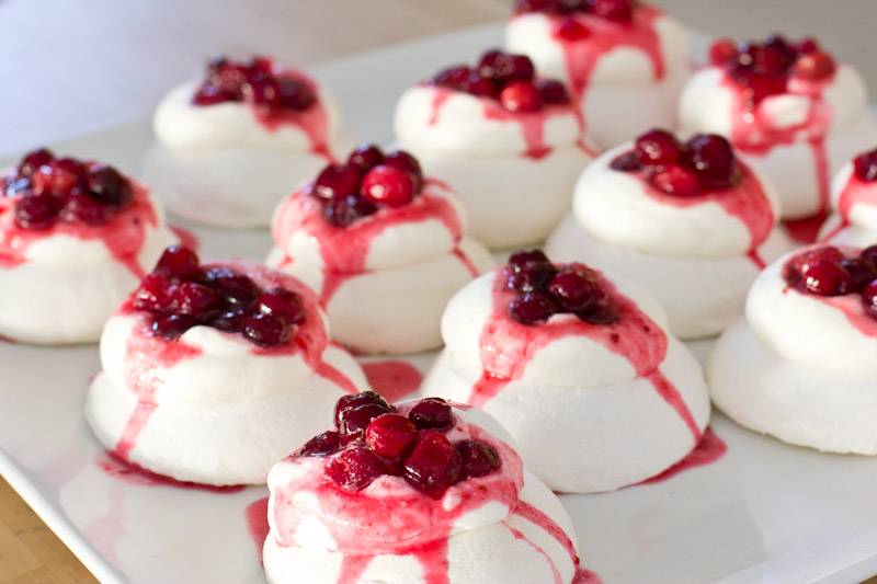 Cranberry Pavlova Recipe