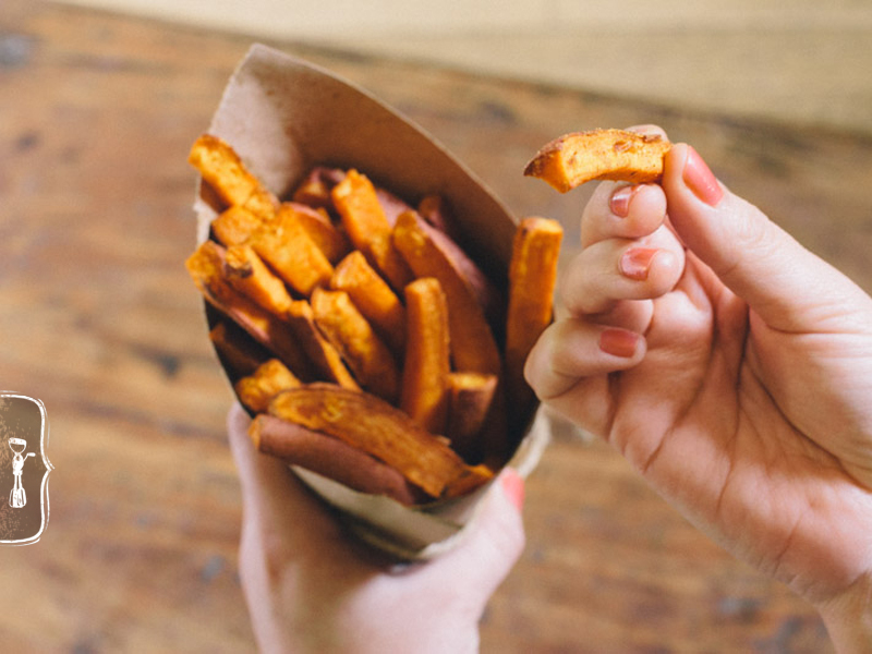 Healthy Sweet Potato Fries Recipe