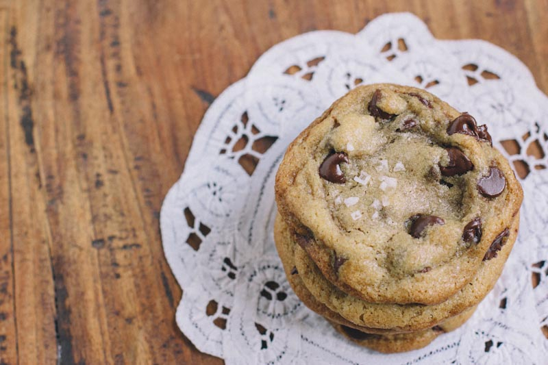 Salted Chocolate Chip Cookie Recipe