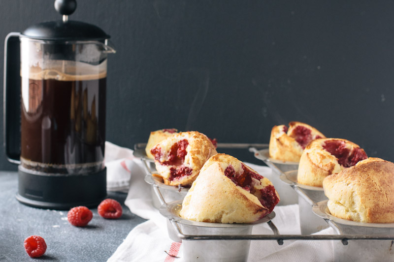 Raspberry Popover Recipe