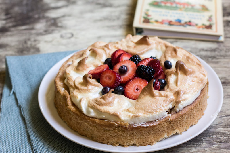 Berry Basket Cake Recipe